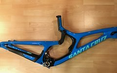 Santa Cruz V10 CC Rahmenset 2018 inkl. Fox DHX2 Factory- Large - 24h