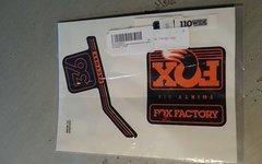 Fox 36 Aufkleber Decals Aufkleber Fox 36 Decals