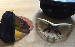 B´twin Fahrrad-Brille mit 4 austauschbare Gläser - 100 % UV-Schutz