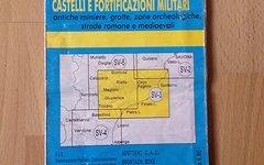 Landkarte Carta Sentieri Finale Ligure (Fie SV-3)