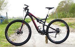 "Specialized Stumpjumper 29"" FSR Comp Carbon in ""L"" / Chris King / XTR / KindShock"