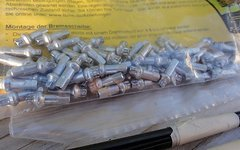 DT Swiss Pro Lock Squorx Pro Head Aluminium Speichennippel 2 mm Gewinde 50 St.