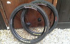 """Pacenti / Dt-Swiss Custom Laufradsatz 26"""" eingespeicht von Pancho Wheels"""