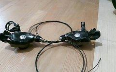 SRAM XX Trigger Schalthebel 2x10 rechts und links *wie Neu *inkl. Schellen und Züge