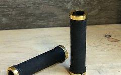 Aerozine MTB-Schraubgriffe Aerozine, Aluminium schwarz/gold