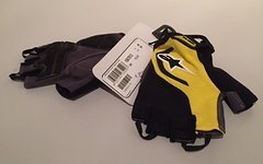 Alpinestars Pro Light Short Finger Gloves Yellow M