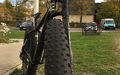 Cannondale 2016 FAT CAAD 1 Lefty - Gr. M und S