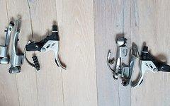 Shimano STX Felgenbremsen silber