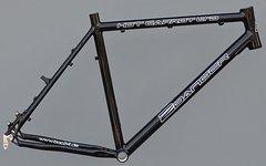 "2Danger Trekkingrad Sport Rahmen 55 cm schwarz glanz 28"""