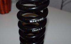Manitou Dämpferfeder 650x2,5 Stahlfeder (Auch für Fox)
