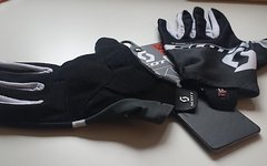Scott Rc Team Lf Glove Vollfinger-Handschuh - Black/dark Grey Vollfinger Handschuh in M + L (8,5 + 9)
