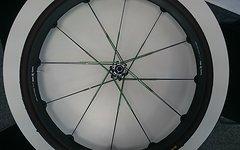 "Crank Brothers Cobalt 11 Carbon Laufradsatz 29"" black/green Einzelstück NEU 2016"