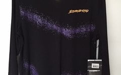 Sombrio Disciple Freeride Jersey Purple Blooded L