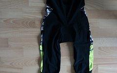 Northwave Dynamic Colorway MS Fahrradträgerhose lang Schwarz/Camo/Gelb Gr. M(46/48)