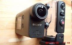 Sony HDR-AS50 mit Zubehör