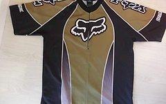 FOX RACING USA Fox Racing Jersey Medium Old School Vintage Rar