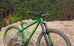 Custom Built Cyclo Totxo Long Travel Hardtail