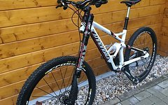 "Cannondale Jekyll Carbon 2 (2015) white 27,5"" gr. S"