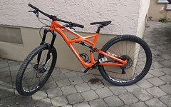 Specialized Enduro FSR Comp 29 L GLOSS MOTO ORANGE WHITE - AUCH TAUSCH!!!!