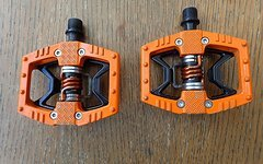 Crankbrothers Double Shot orange gebraucht