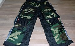 O'Neal DH-Freeride Hose Short Pant Zipp Camouflage  Gr. 36 Super Zustand
