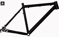 """Bergwerk Mercury Mountainbike Rahmen 48 cm in schwarz matt 26"""""""