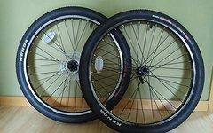 Orbea Original-Laufradsatz aus Orbea MX 24 Team mit Schläuchen, Reifen und Schnellspannern für Felgenbremsen