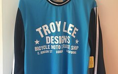 Troy Lee Designs Super Retro Jersey Cyan Gr. M NEU
