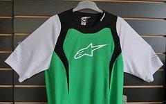 Alpinestars Drop Jersey Short Sleeve Green/White XL SALE NEU UVP 49,90€