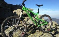 Santa Cruz Nomad 2 Carbon, size M, Top Parts