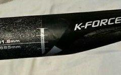 FSA MTB Carbon Lenker FSA K-Force 112 Gramm