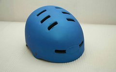 "Bell Faction Dirt/Trail Helm Gr. ""M/L"" metallic blau"