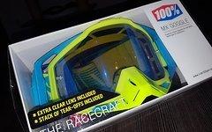 100% Racecraft Barbados, verspiegelt und klar mit abreißfolie