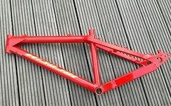 Nicolai BMXTB Rahmen, neu pulverbeschichtet