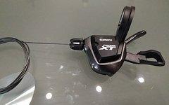 Shimano Deore XT SL-M8000 Rapidfire Plus Schalthebel links 2/3 Fach