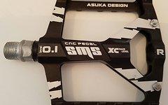 Aluminium AM Pedale *schwarz*