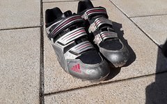Adidas Schuhe mit Shimano Cleats