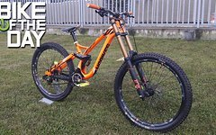 NS Bikes Fuzz Fluo Orange Gr:M Frame