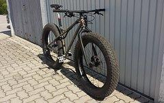 Custom Totem Bikes Fatbike 13kg, CRMO Carbon Chris King Salsa DT X9