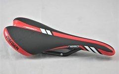 Oxygen Rennsattel Oxygen Neso schwarz-rot Carbon 7mm Rails 165g