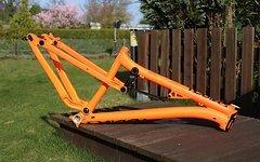 NS Bikes Soda EVO Rahmen M Orange 160-180mm *NEU*