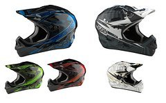 Kali Savara DH Helm Fibreglass, Gr. L zwei Farben, Abverkauf