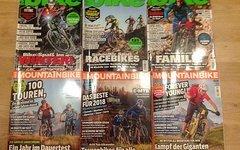 Mountainbike Magazin Heft 1 bis 3 von 2018 und
