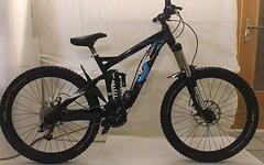 Univega Downhill/Freeride Bike (DH,FR)-Fully