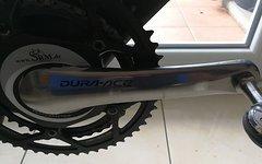 SRM PM6 Dura Ace Power Meter, 172,5mm, 130mm Lochkreis, 53-39 NoQ-Rotor-Kettenblätter