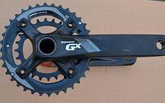 SRAM GX 1000 Kurbel GXP Abstufung 36-24 Zaehne 170 mm schwarz