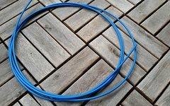 Shimano Schaltzughülle blau