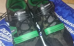 Vaude Taron Low Am gr 44 grün, neuwertig