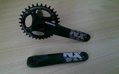 SRAM NX Kurbel 1x11 GXP 32T X-Sync Direct Mount 175 mm - Neu DM Lochkreis 96 mm