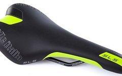 Selle Italia SLS Manganese - Sport und Race Sattel in schwarz-grün